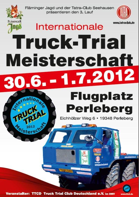 Internationale Truck-Trial Meisterschaft 2012 in Perleberg