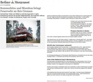 Munition-bringt-Feuerwehr-an-ihre-Grenzen Berliner Morgenpost 23.07.2013